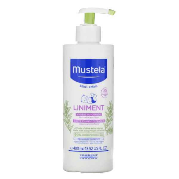 Mustela Diaper Change Cleanser 400ml