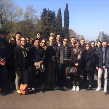 Visite du site de Sanofi – Montpellier