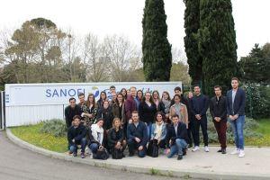 Visite Sanofi Montpellier - 6 avril 2018