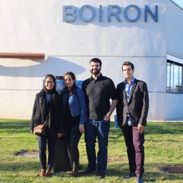 Visite du laboratoire Boiron Montpellier