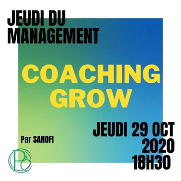 Jeudi du Management : Le Coaching GROW