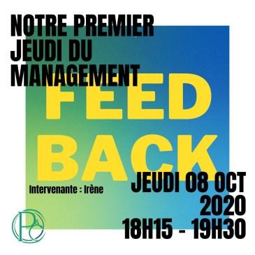 Jeudi du Management : Le Feedback