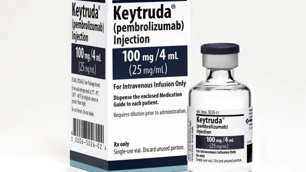Keytruda approved for combination lung cancer therapy