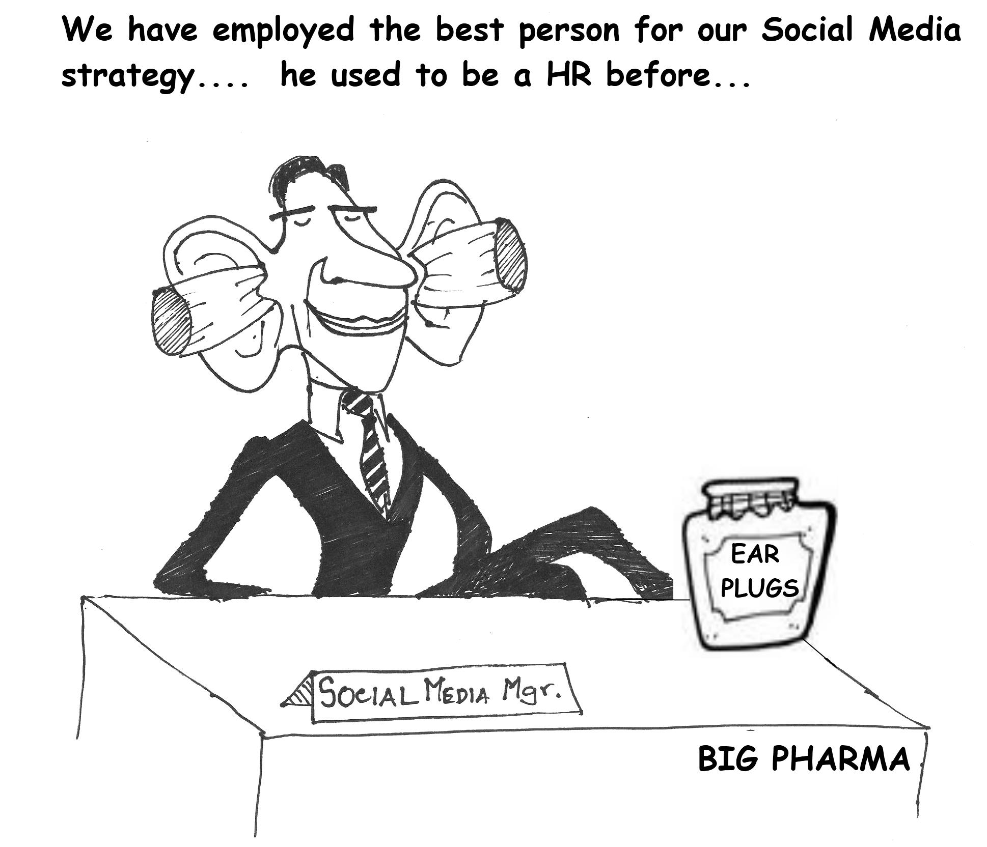 Pharma's Social Media Strategy