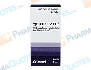 Durezol Coupon - Discounts up to 72% - Pharmaquotes