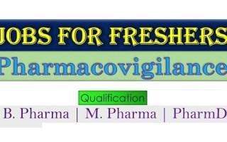 Hiring B.Pharm / M.Pharm / Pharm.D Freshers – Pharmacovigilance
