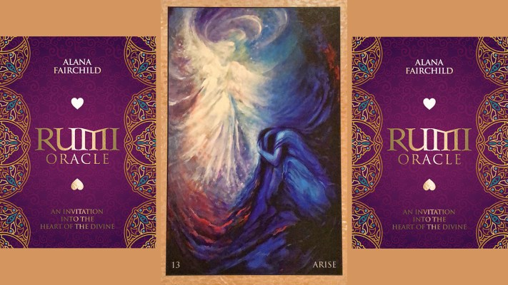 Rumi Oracle Card Arise