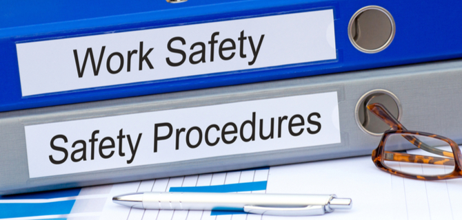 Work Safety and Safety Procedures Binders