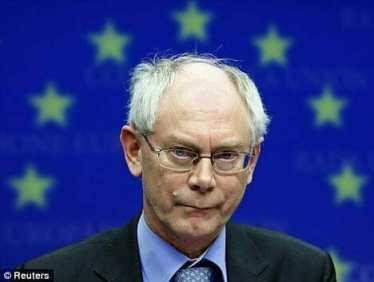 Van Rompuy EU flag