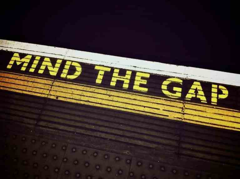 mind the gap scaled