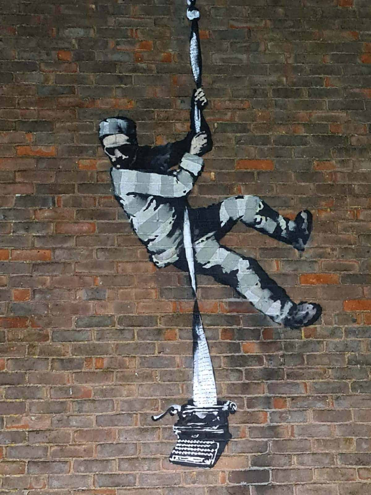Banksy in Reading