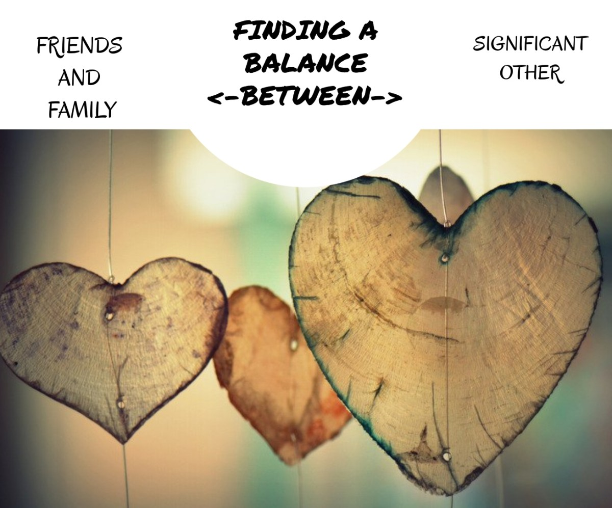 Finding A Balance Between Friends, Family and Your Partner