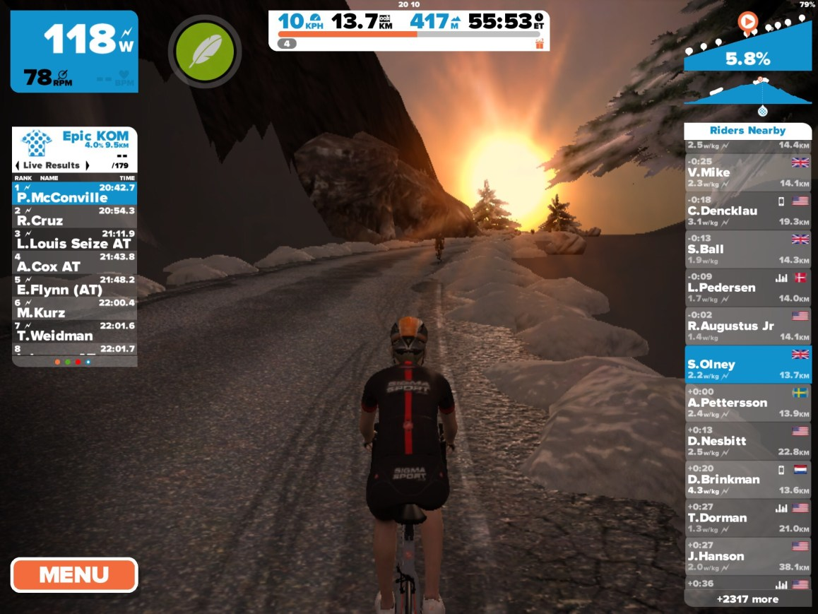 Zwift Triathlon Training Plans