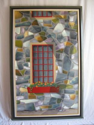 L'arbre (toile encadrée); Philippe Bédard; acrylique sur toile