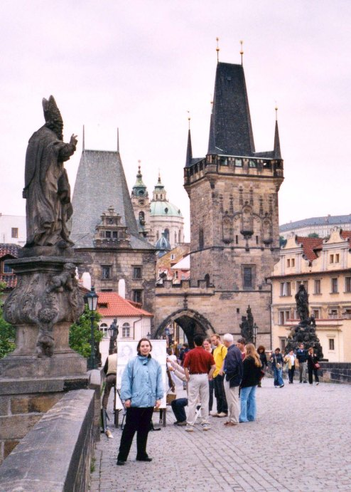 Catherine en voyage à Prague