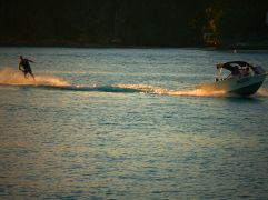 water skiing Burleigh