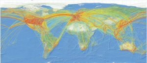 World-traffic-flows-ICAO