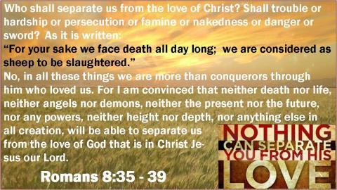 Romans 8.35 39
