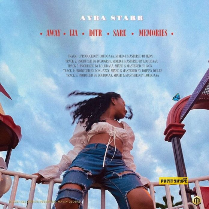Ayra Star EP track list