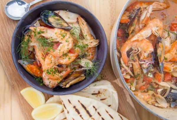 check out the best jan braai seafood potjie recipe