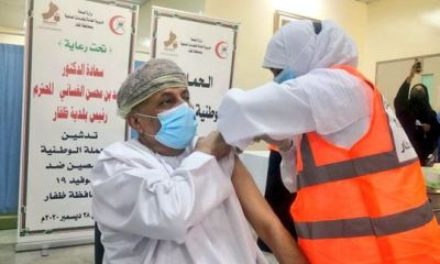 free vaccine for all those 45 years and above in oman