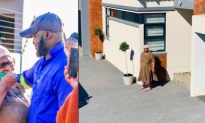 man surprises mom with a new home photos