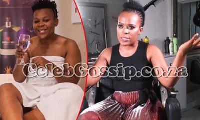 zodwa wabantu finally turns to god as stranger prays for her at petrol station watch video