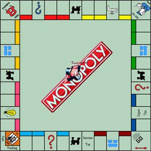 Sample Monopoly Board