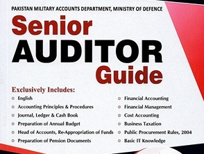 Senior auditor past papers ppsc