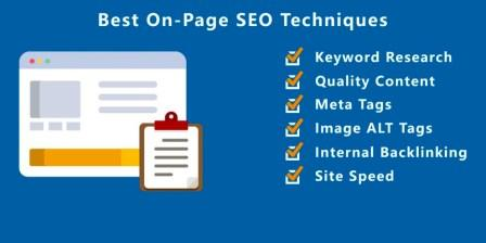 best-on-page-seo-techniques