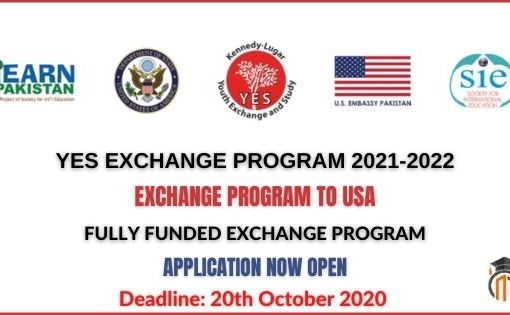 YES Youth Exchange Program 2021-2022