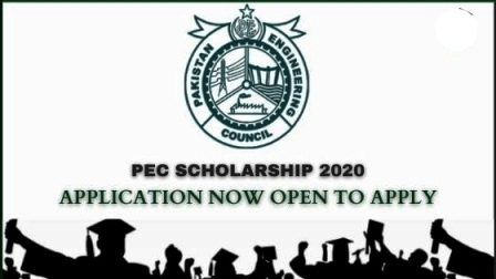 PEC (Pakistan Engineering Council) Scholarship 2020