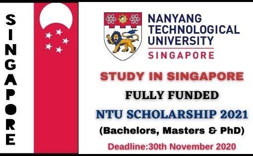 Nanyang Scholarship 2021