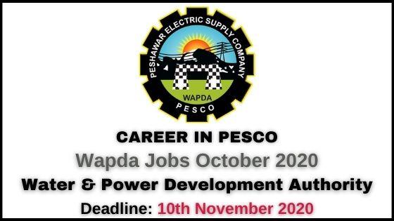 PESCO Jobs 2020