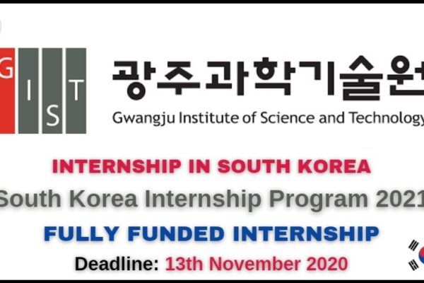 South Korea Internship Program 2021