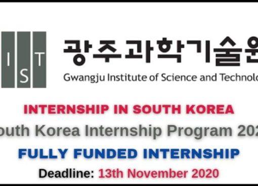 South Korea Internship Program 2021