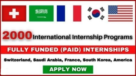 List of International Internships 2021