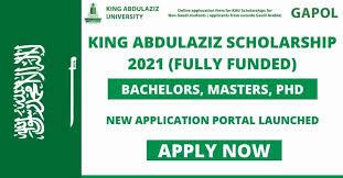 King Abdul Aziz University Scholarship 2021