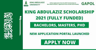King Abdul Aziz University Scholarship 2021