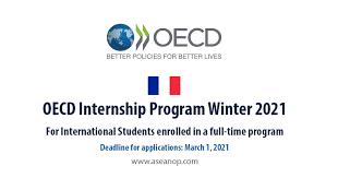OECD Internship Program 2021 in France