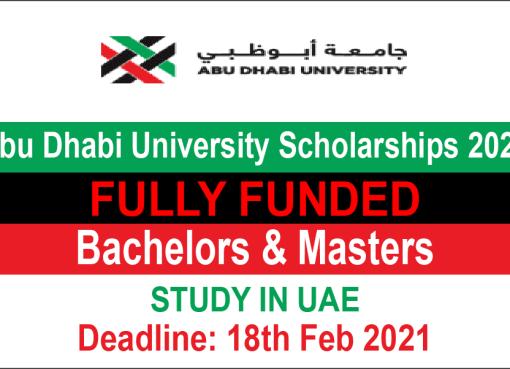 Abu Dhabi University Scholarships 2021