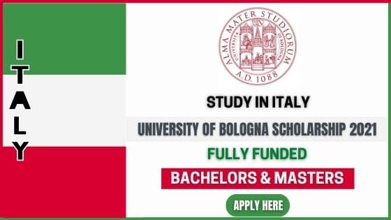 University of Bologna Scholarship 2021