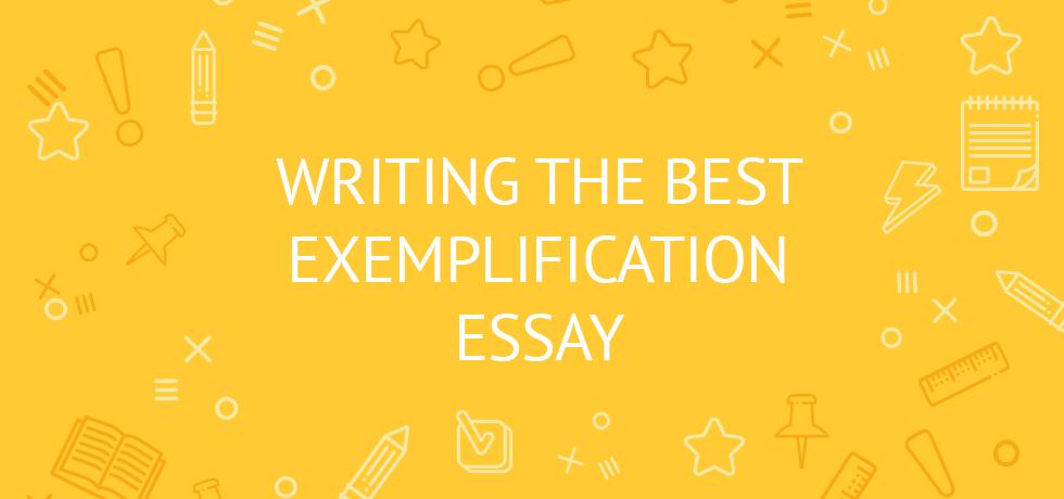 exemplication essay