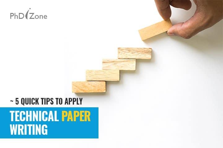 Phdizone technical paper writing