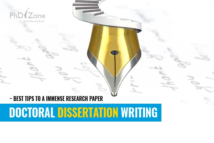Doctoral Dissertation Writing