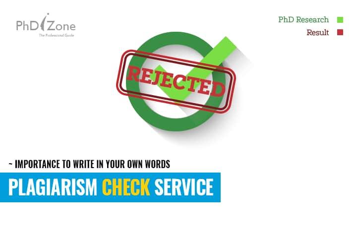 Plagiarism Check Service