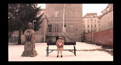 The Grand Budapest Hotel Authors Statue