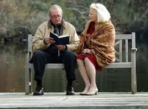 The Notebook Duke reading to Allie