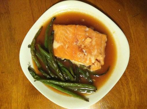 Sweet Miso Salmon