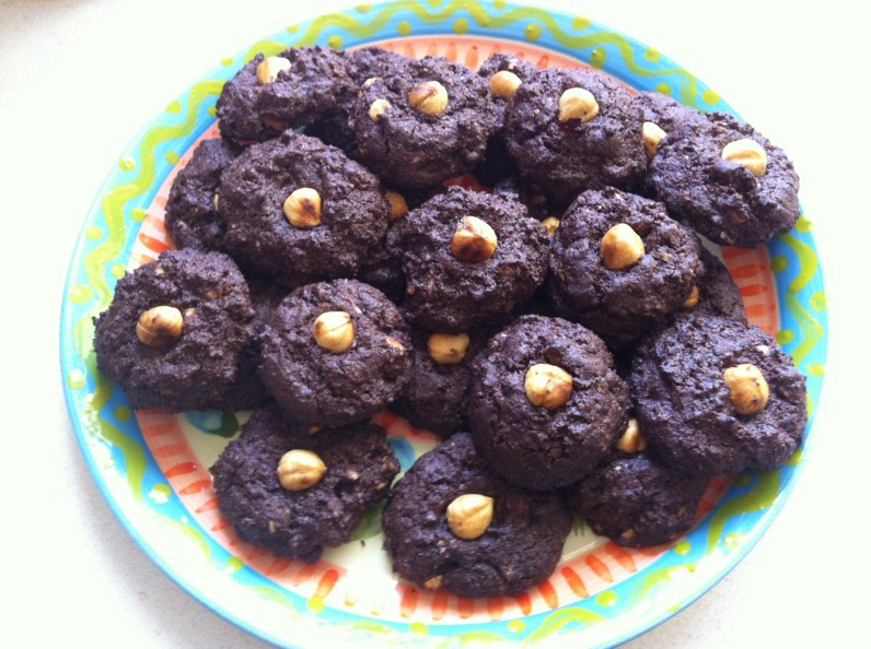 Gluten-Free Chocolate-Hazelnut Cookies!